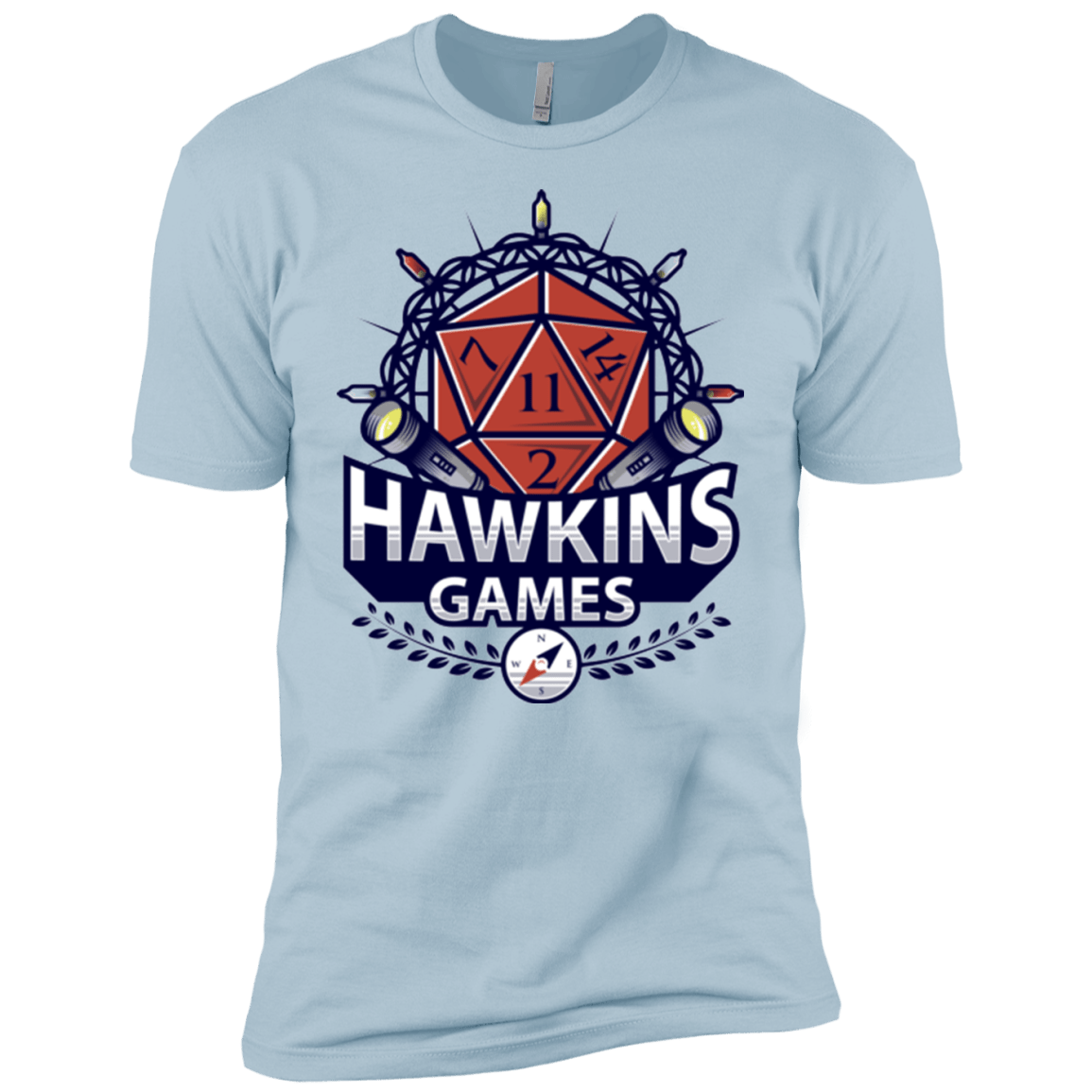 T-Shirts Light Blue / YXS Hawkins Games Boys Premium T-Shirt