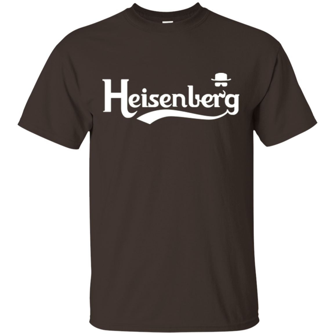 T-Shirts Dark Chocolate / Small Heisenberg (1) T-Shirt