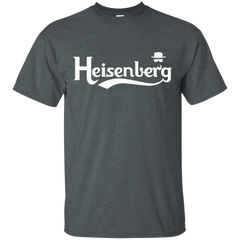 T-Shirts Dark Heather / Small Heisenberg (1) T-Shirt