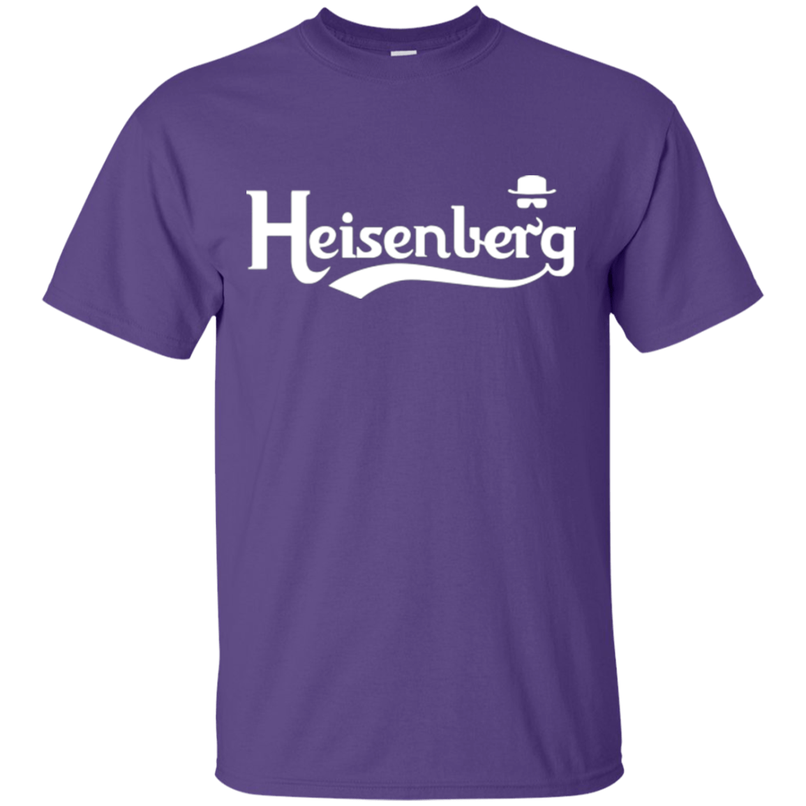 T-Shirts Purple / Small Heisenberg (1) T-Shirt