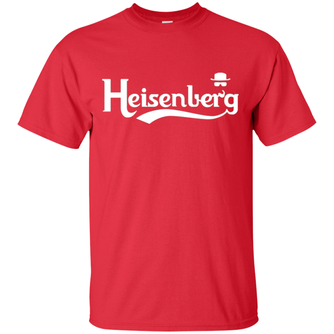 T-Shirts Red / Small Heisenberg (1) T-Shirt