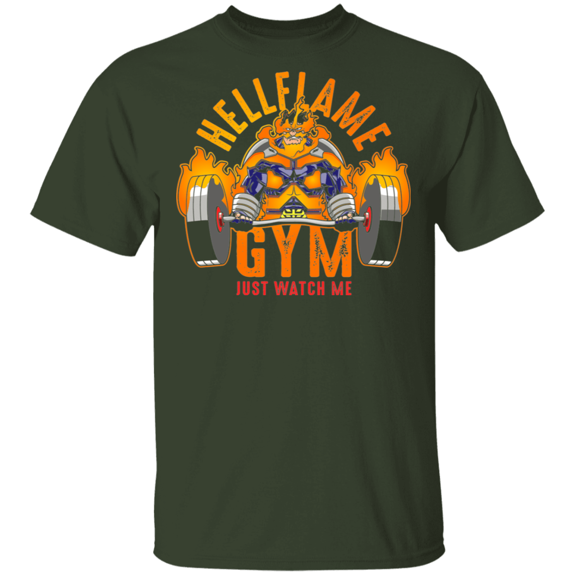 T-Shirts Forest / S Hellflame Gym T-Shirt