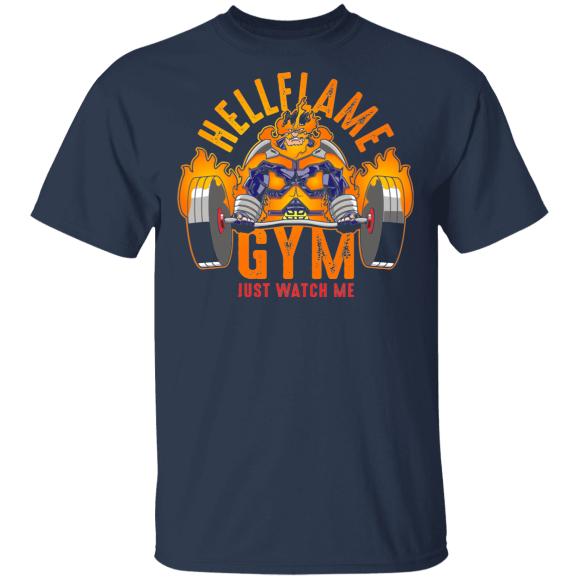T-Shirts Navy / S Hellflame Gym T-Shirt