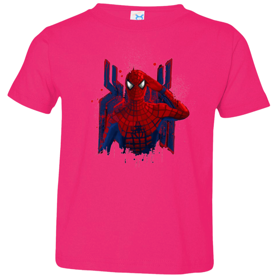 T-Shirts Hot Pink / 2T Hero of NY Toddler Premium T-Shirt