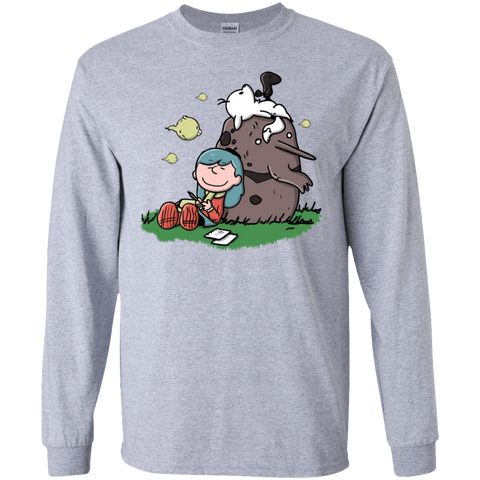 Hilda Brown Men's Long Sleeve T-Shirt