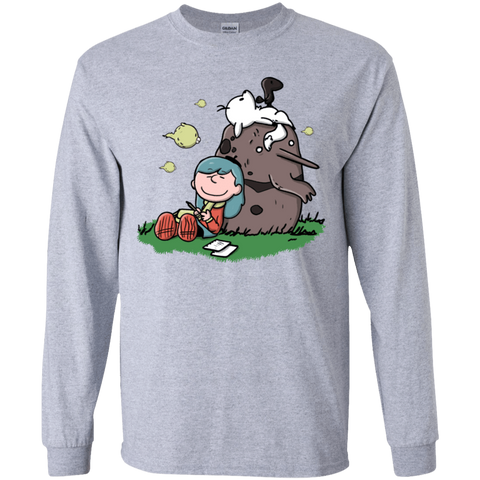 Hilda Brown Youth Long Sleeve T-Shirt