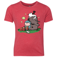Hilda Brown Youth Triblend T-Shirt
