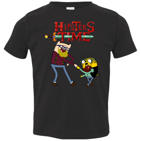 Hipsters Time Toddler Premium T-Shirt
