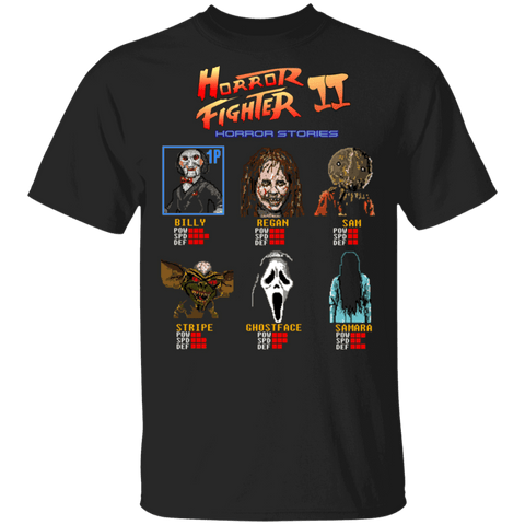 T-Shirts Black / S Horror Fighter 2 T-Shirt