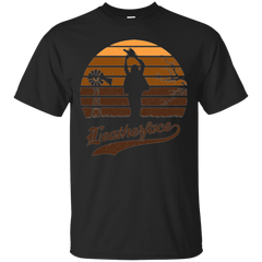 Horror Sun Set Leatherface T-Shirt