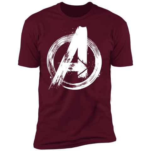 T-Shirts Maroon / S I Am An Avenger Men's Premium T-Shirt