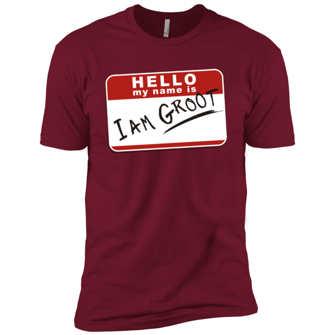 T-Shirts Cardinal / X-Small I am Groot Men's Premium T-Shirt