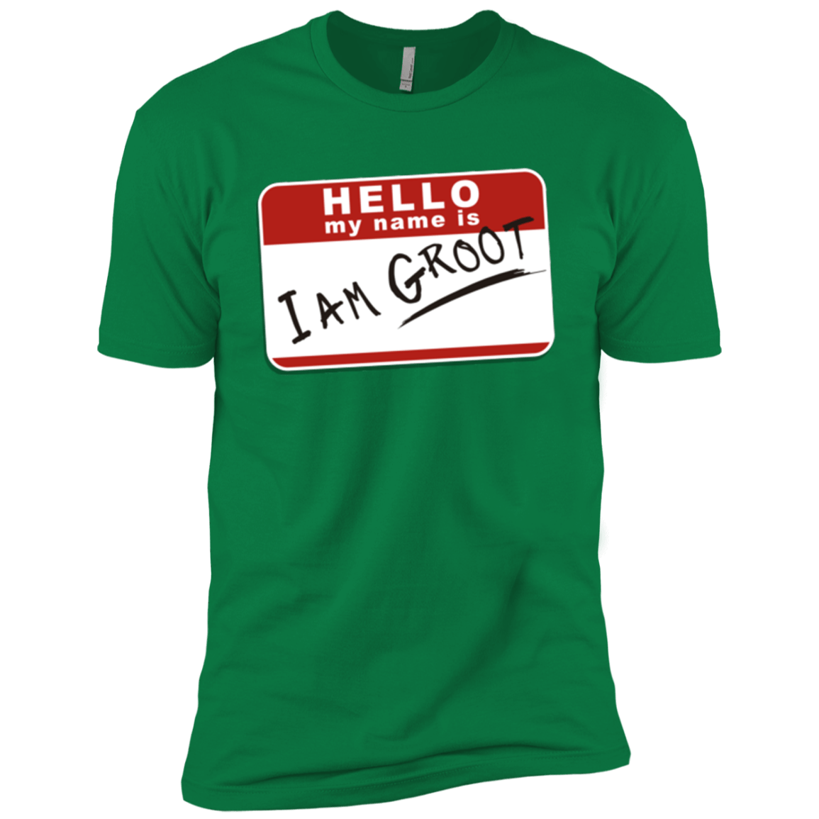 T-Shirts Kelly Green / X-Small I am Groot Men's Premium T-Shirt