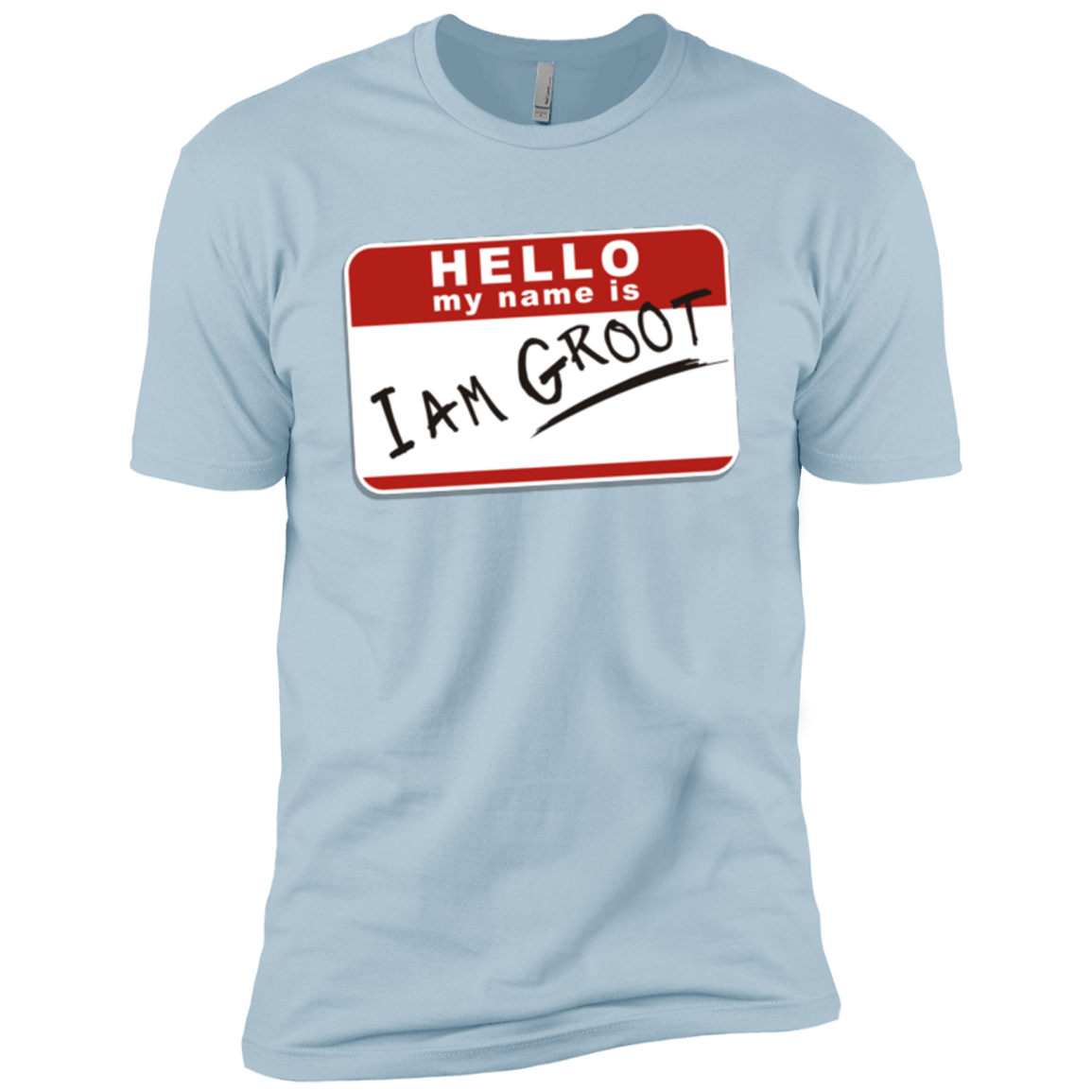 T-Shirts Light Blue / X-Small I am Groot Men's Premium T-Shirt