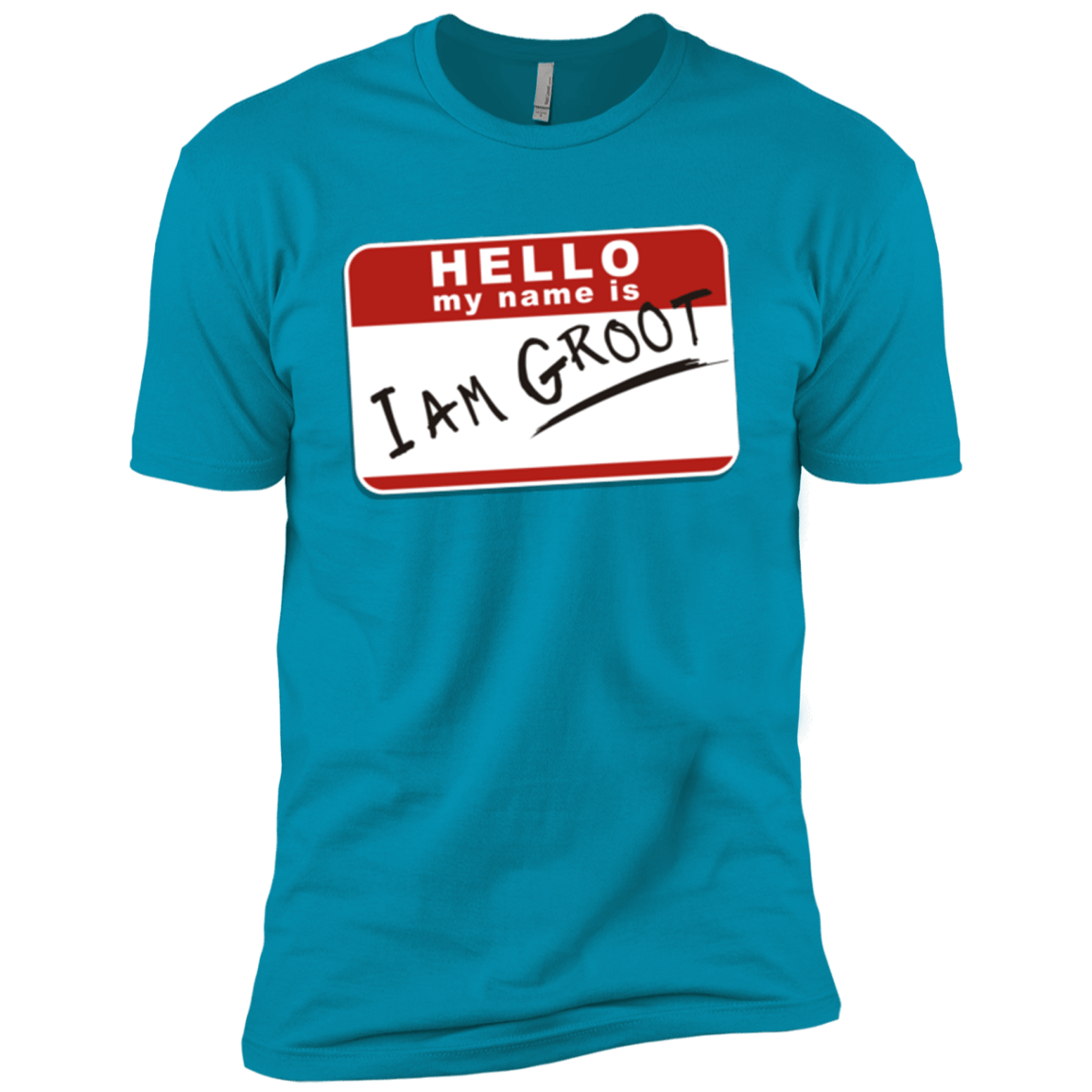 T-Shirts Turquoise / X-Small I am Groot Men's Premium T-Shirt