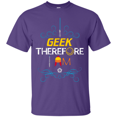 T-Shirts Purple / Small I GEEK vol 2 T-Shirt