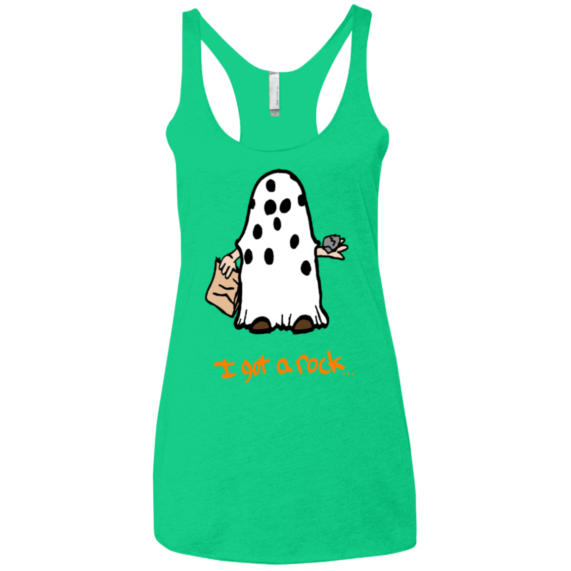 I got A rock Women's Triblend Racerback Tank