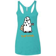 T-Shirts Tahiti Blue / X-Small I got A rock Women's Triblend Racerback Tank