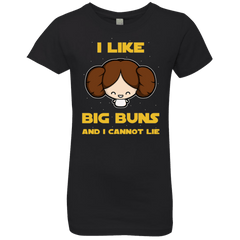 T-Shirts Black / YXS I Like Big Buns Girls Premium T-Shirt