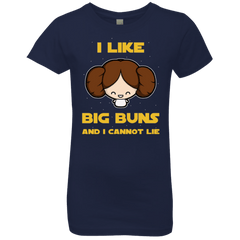 T-Shirts Midnight Navy / YXS I Like Big Buns Girls Premium T-Shirt