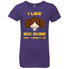 T-Shirts Purple Rush / YXS I Like Big Buns Girls Premium T-Shirt