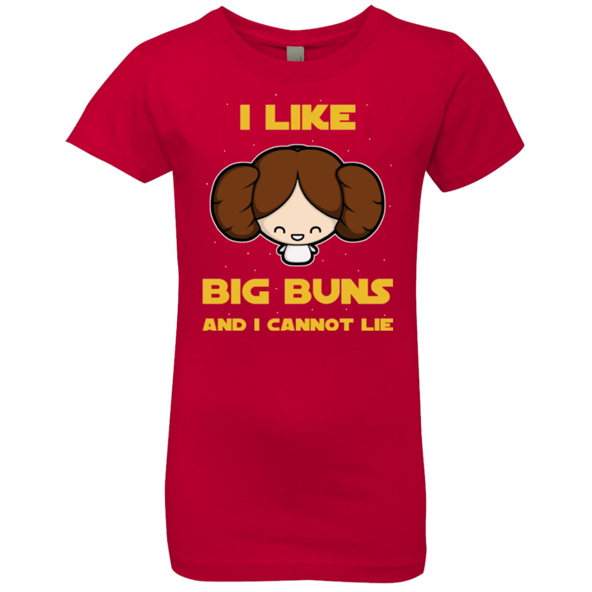 T-Shirts Red / YXS I Like Big Buns Girls Premium T-Shirt