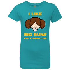 T-Shirts Tahiti Blue / YXS I Like Big Buns Girls Premium T-Shirt