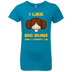 T-Shirts Turquoise / YXS I Like Big Buns Girls Premium T-Shirt