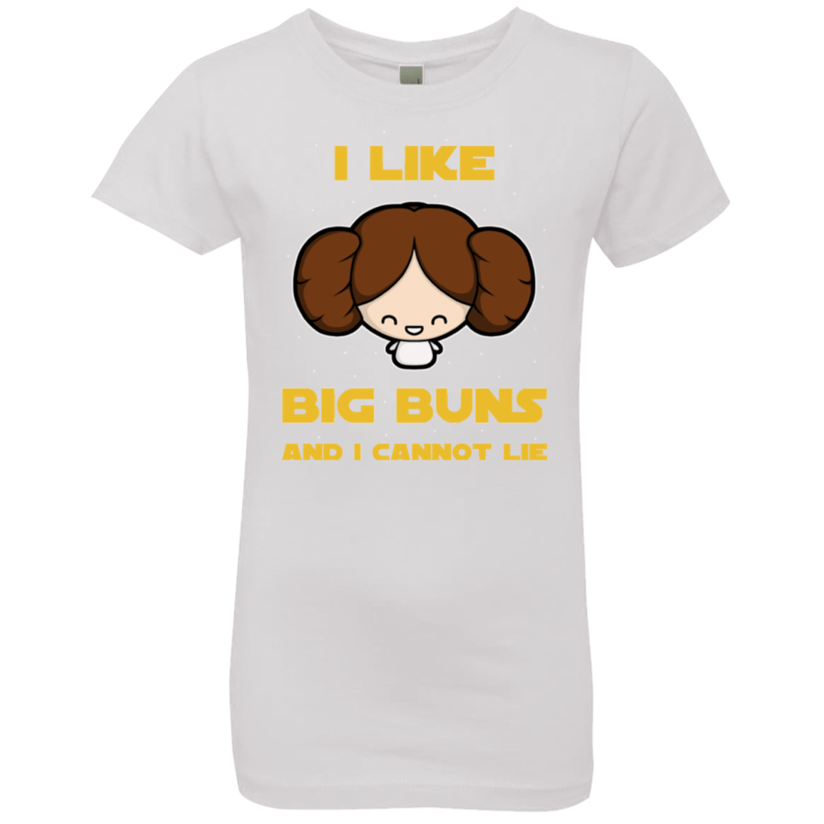 T-Shirts White / YXS I Like Big Buns Girls Premium T-Shirt