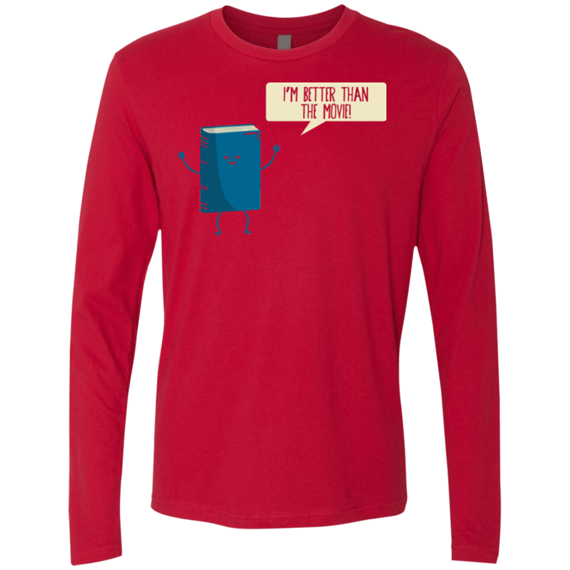I'm Better Than The  Movie Men's Premium Long Sleeve