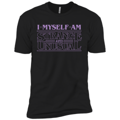 T-Shirts Black / YXS I Myself Am Strange And Unusual Boys Premium T-Shirt