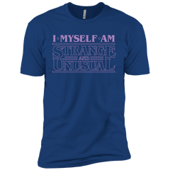 T-Shirts Royal / YXS I Myself Am Strange And Unusual Boys Premium T-Shirt