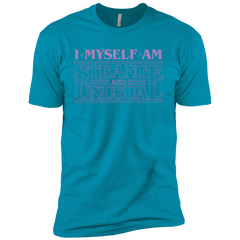 T-Shirts Turquoise / YXS I Myself Am Strange And Unusual Boys Premium T-Shirt