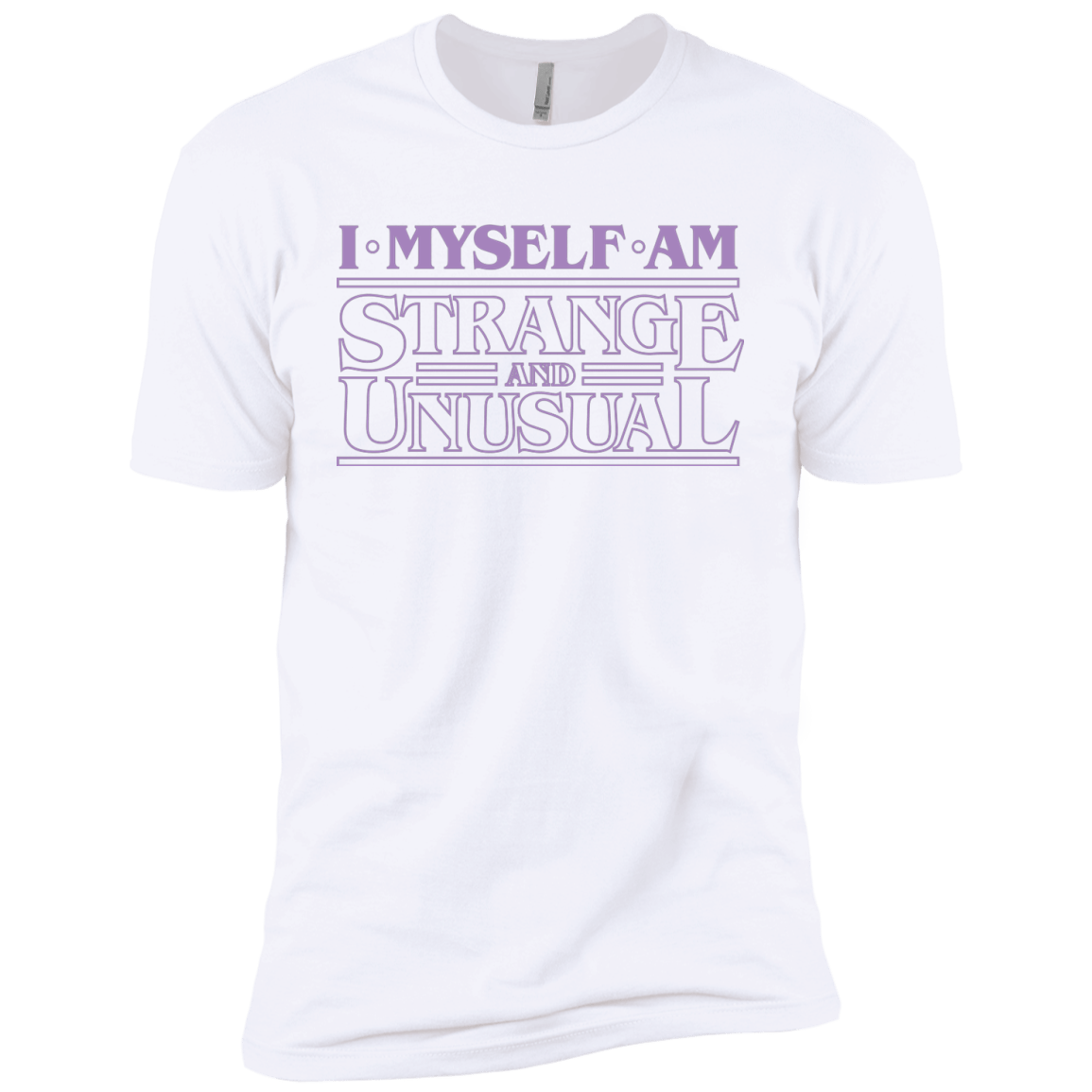 T-Shirts White / YXS I Myself Am Strange And Unusual Boys Premium T-Shirt