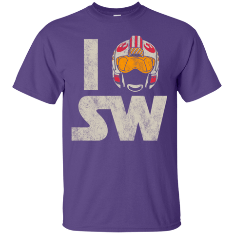 T-Shirts Purple / Small I Pilot SW T-Shirt