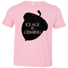 T-Shirts Pink / 2T Ice coming Toddler Premium T-Shirt