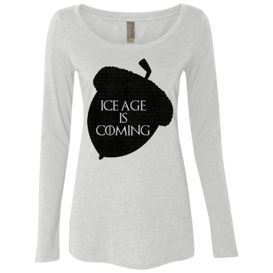 Ice coming Women's Triblend Long Sleeve Shirt