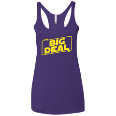 Im a Big Deal Women's Triblend Racerback Tank