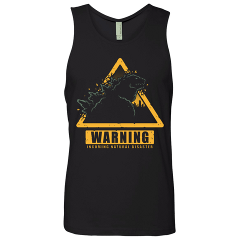 Incoming Natural Disaster Men's Premium Tank Top