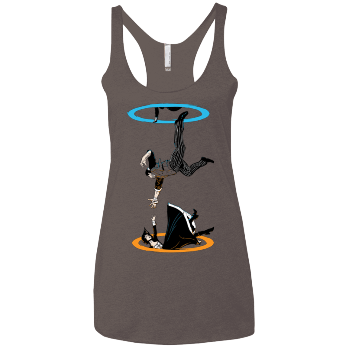 T-Shirts Macchiato / X-Small Infinite Loop Women's Triblend Racerback Tank