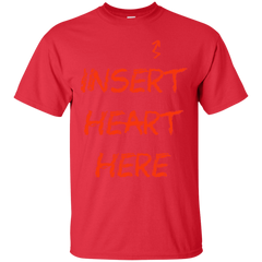 Insert Heart Here T-Shirt