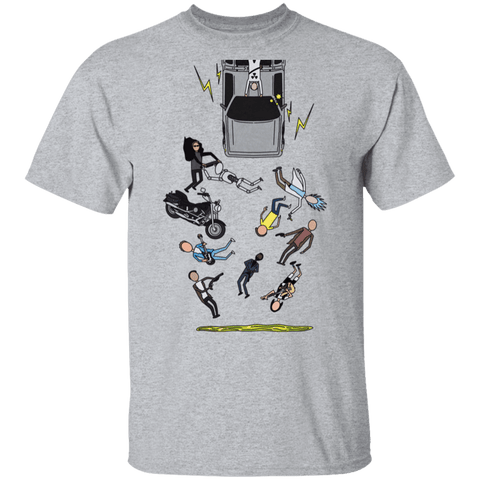 T-Shirts Sport Grey / S Inter-Dimensional Time Travel T-Shirt