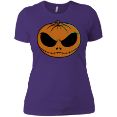 T-Shirts Purple / X-Small Jack O Lantern Women's Premium T-Shirt