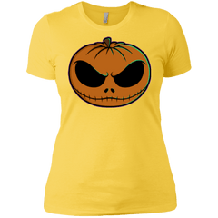 T-Shirts Vibrant Yellow / X-Small Jack O Lantern Women's Premium T-Shirt