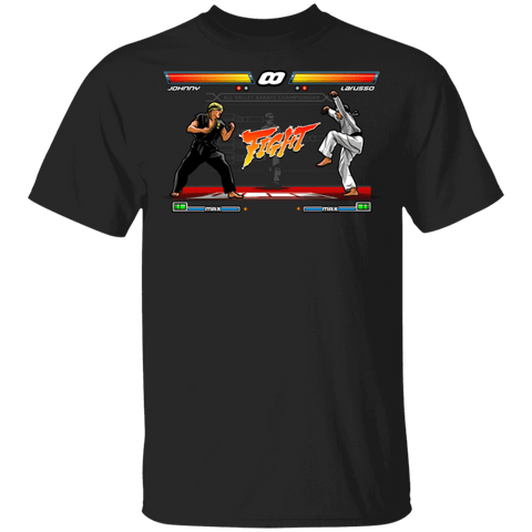 T-Shirts Black / S Karate Fighter T-Shirt