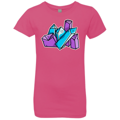 T-Shirts Hot Pink / YXS Kawaii Cute Crystals Girls Premium T-Shirt
