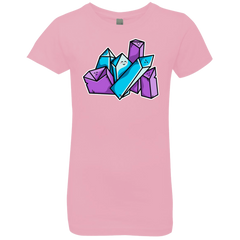 T-Shirts Light Pink / YXS Kawaii Cute Crystals Girls Premium T-Shirt