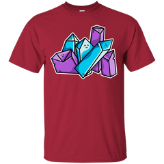 T-Shirts Cardinal / S Kawaii Cute Crystals T-Shirt