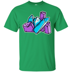 T-Shirts Irish Green / S Kawaii Cute Crystals T-Shirt