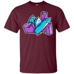 T-Shirts Maroon / S Kawaii Cute Crystals T-Shirt